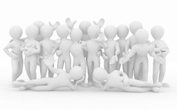Friendship. Teamwork. Group of people. Royalty Free Stock Image