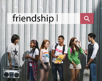 Friendship Together Music Entertainment Enjoyment Concept Stock Photos