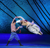 """Friendship and understanding-Dance drama """"The Dream of Maritime Silk Road"""" Stock Photos"""