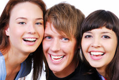 Friendship - Young students Stock Photography