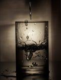 Frieren Sie das Wasser ein Lizenzfreies Stockfoto