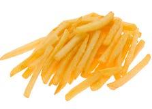fries изолировали картошку Стоковая Фотография