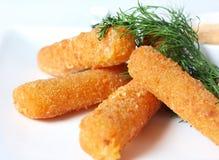 fries сыра Стоковые Фото