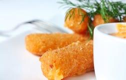 fries сыра Стоковое Изображение RF