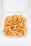 fries франчуза Стоковое Изображение