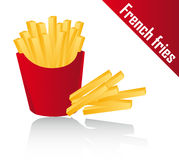 fries франчуза иллюстрация штока