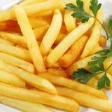 fries франчуза Стоковая Фотография