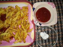 fries стоковые изображения