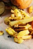 fries Royalty-vrije Stock Foto's