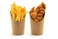 Fries And Chicken Nuggets Stock Image