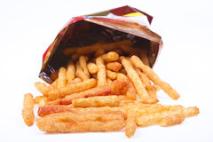 Fries in a bag Stock Photography