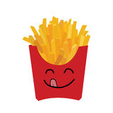 Fries Character . Stock Photography