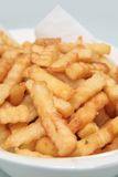 Fries crinkle Royalty Free Stock Images