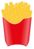Fries potato vector illustration Royalty Free Stock Photo