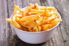 Fries potatoes Royalty Free Stock Photography
