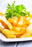 Fries potatoes Royalty Free Stock Photo