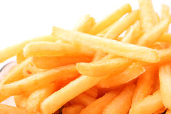 Fries potatoes Royalty Free Stock Image