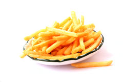 fries potatoes Stock Photography