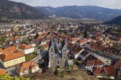Friesach medieval town center Royalty Free Stock Photos