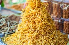 Frieten of Chips in dienblad Stock Fotografie