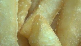 Frieten, Potatos, Snel Voedsel stock video