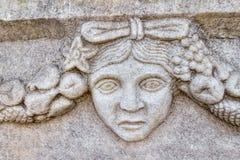 Frieze in Aphrodisias Stock Photo