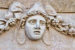 Frieze in Aphrodisias Stock Image