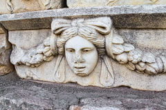 Frieze in Aphrodisias Stock Photography