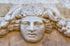 Frieze in Aphrodisias Stock Images