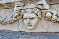 Frieze in Aphrodisias Royalty Free Stock Images