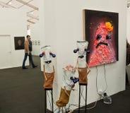 Frieze Contemporary Art Fair London. Stock Photography