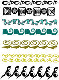 Friezes. A illustration of abstract fiezes stock illustration