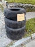 Frigör gummihjul royaltyfria bilder