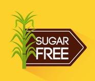 frigör socker Arkivbilder