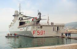Frigata Virginio Fasan Royaltyfri Fotografi
