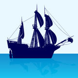 Frigate Royalty Free Stock Photography