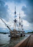 frigate Royaltyfri Fotografi