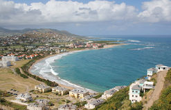 Frigate Bay, St. Kitts Stock Image