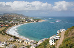 Frigate Bay, St. Kitts Stock Photos