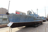 Frigate. Beijing's military museum patrol boat Royalty Free Stock Photography