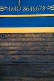 Frigate in harbor of Goteborg, Sweden. Frigate anchored in harbor of Goteborg, Sweden Stock Image