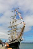 Frigate Pallada visiting San Francisco Royalty Free Stock Image