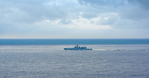 A frigate of Russian Navy Royalty Free Stock Image
