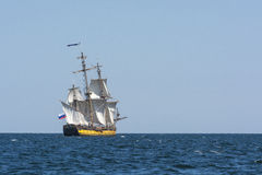 Frigate Shtandart sailing Royalty Free Stock Photography
