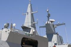 frigatesuperstructure Royaltyfri Foto