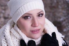 Friggendo nella neve Fotografia Stock Libera da Diritti