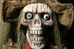 Fright 1. Close up of living dead character staring at camera Stock Photos