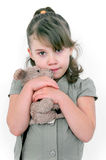 Frightened girl Royalty Free Stock Images