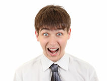 Frightened Teenager Portrait Royalty Free Stock Photo