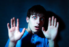 Frightened Teenager Royalty Free Stock Image